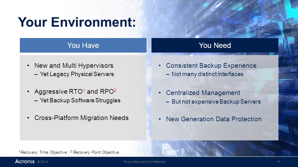 Your Environment: You Have You Need New and Multi Hypervisors