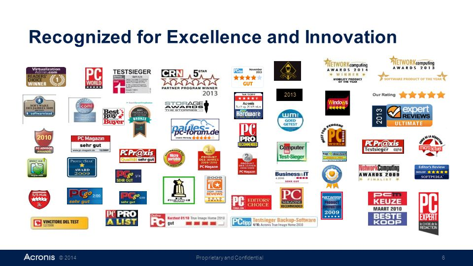 Recognized for Excellence and Innovation