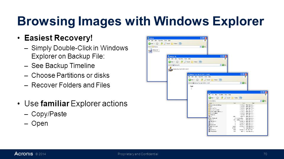 Browsing Images with Windows Explorer