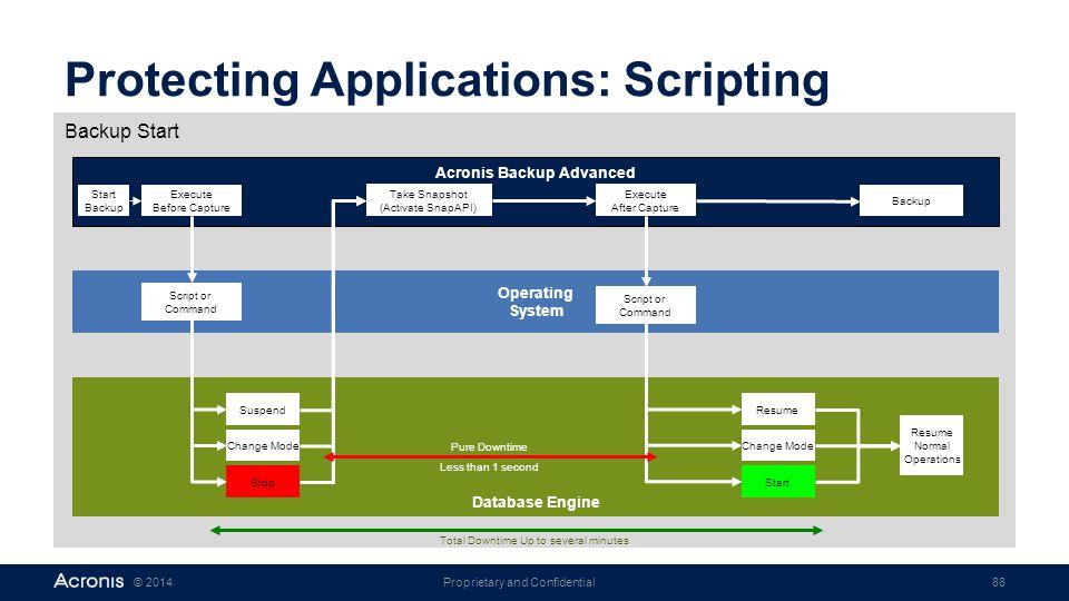 Protecting Applications: Scripting