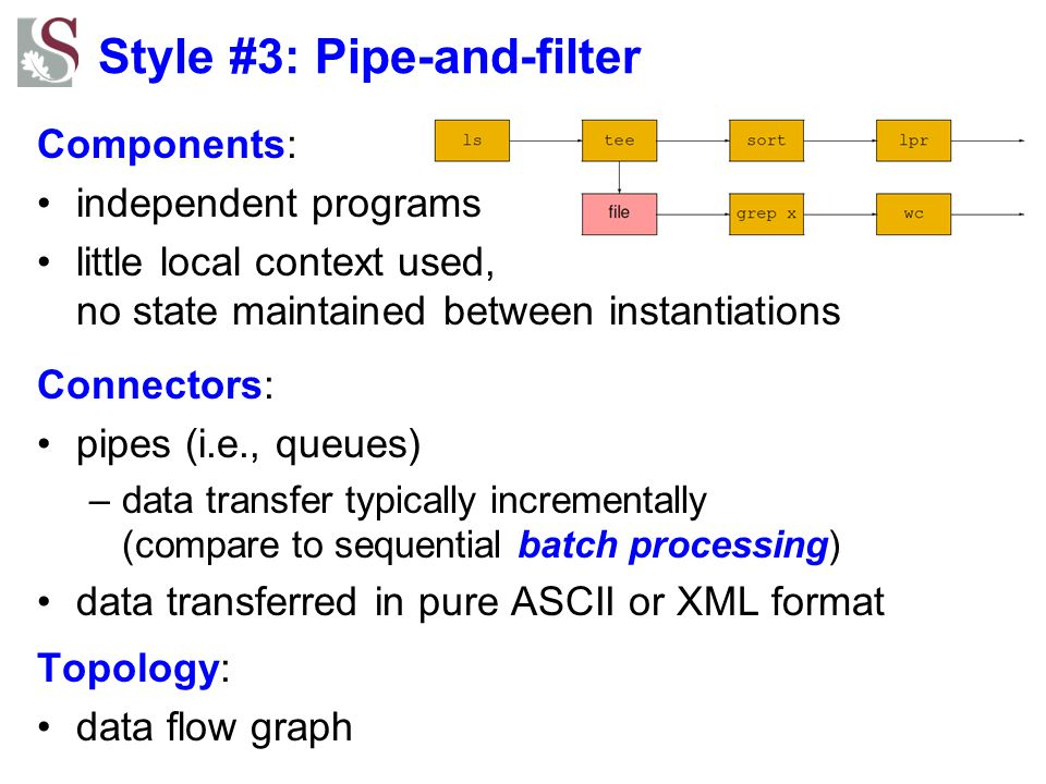 Style #3: Pipe-and-filter