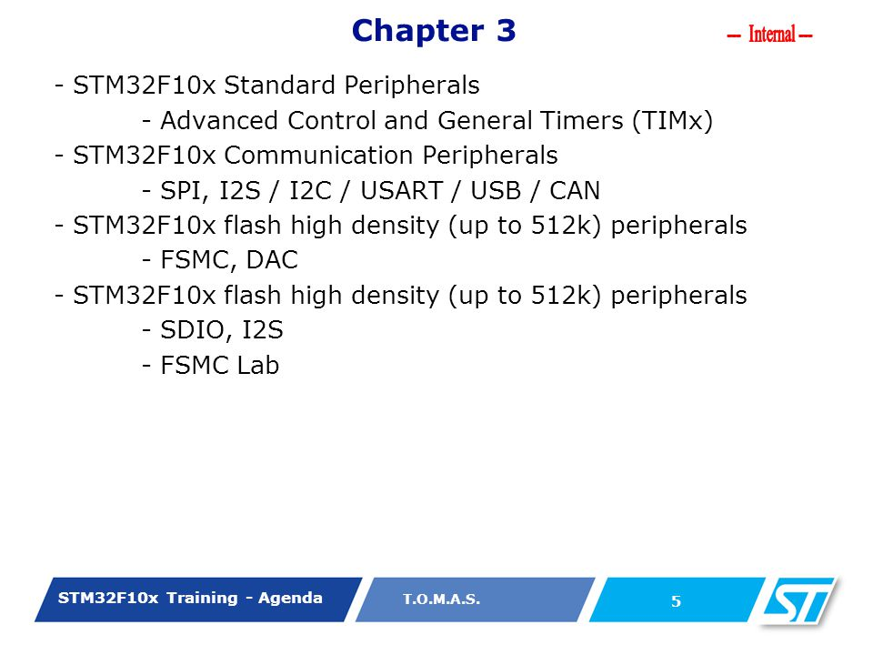 Chapter 3 - STM32F10x Standard Peripherals
