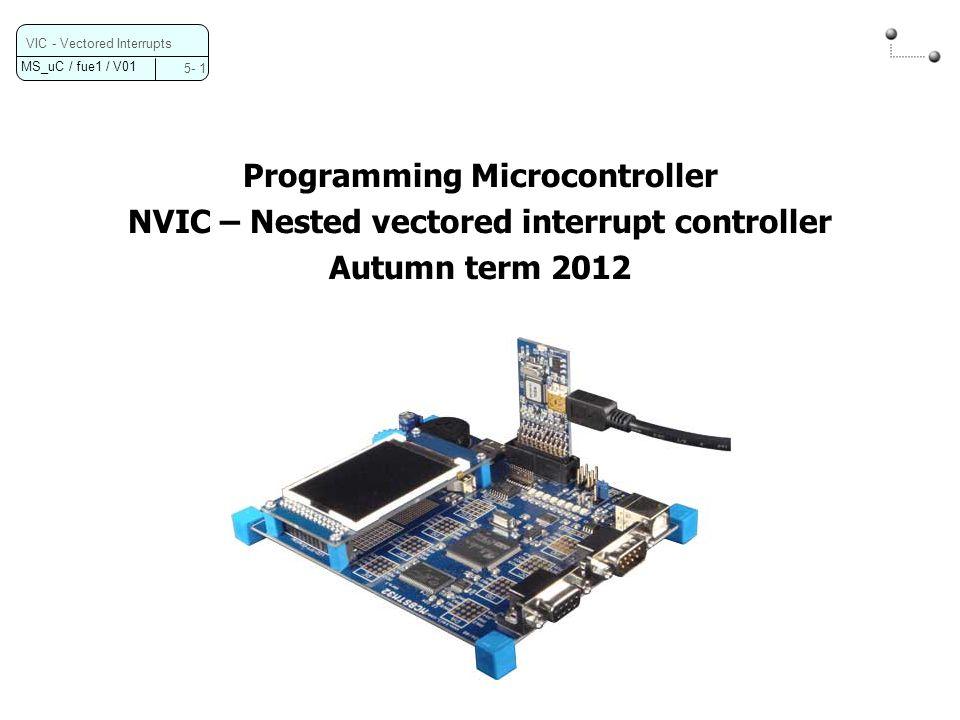 Programming Microcontroller