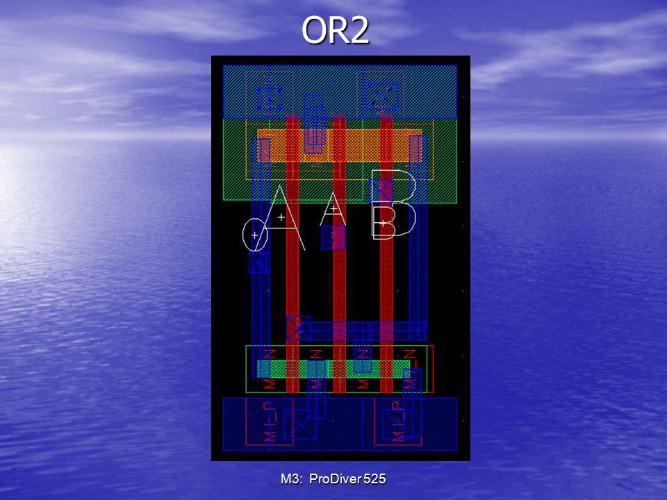 OR2 M3: ProDiver 525