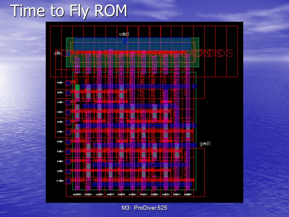 Time to Fly ROM M3: ProDiver 525