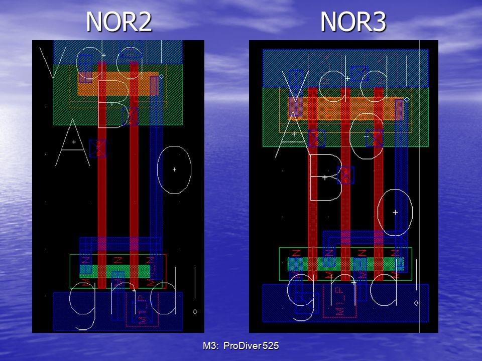 NOR2 NOR3 M3: ProDiver 525