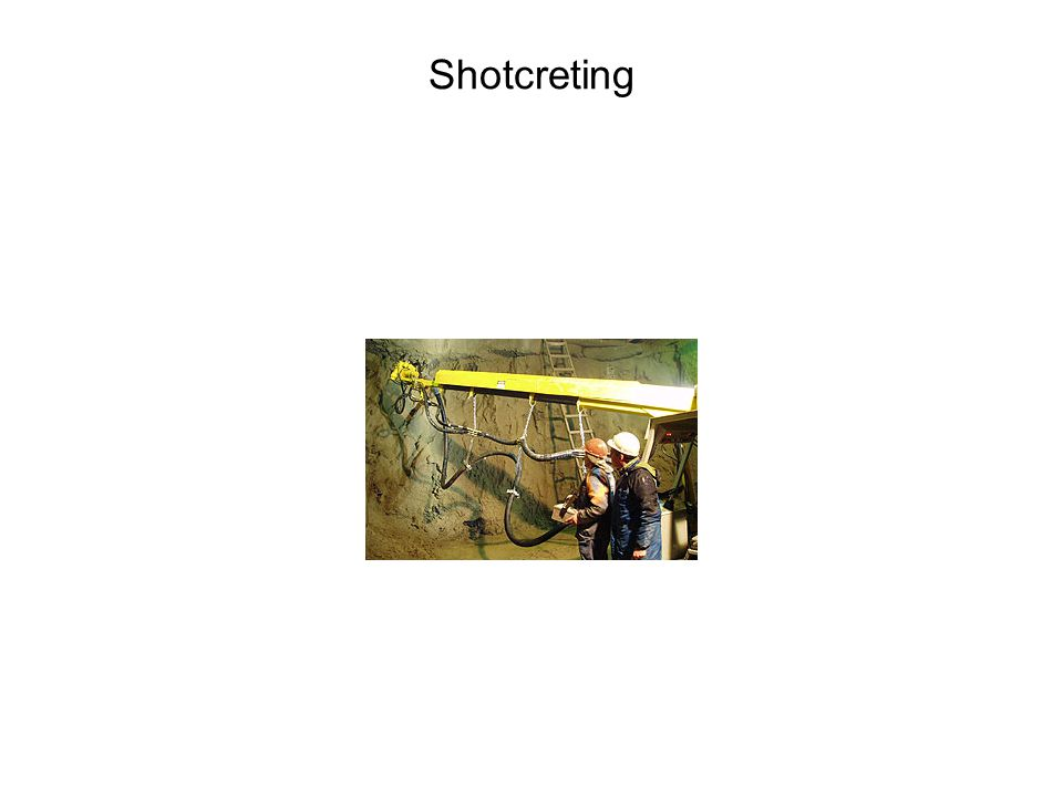 Shotcreting