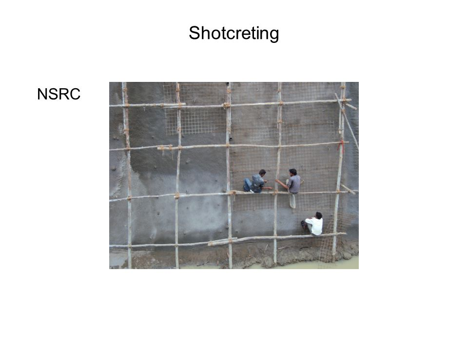 Shotcreting NSRC