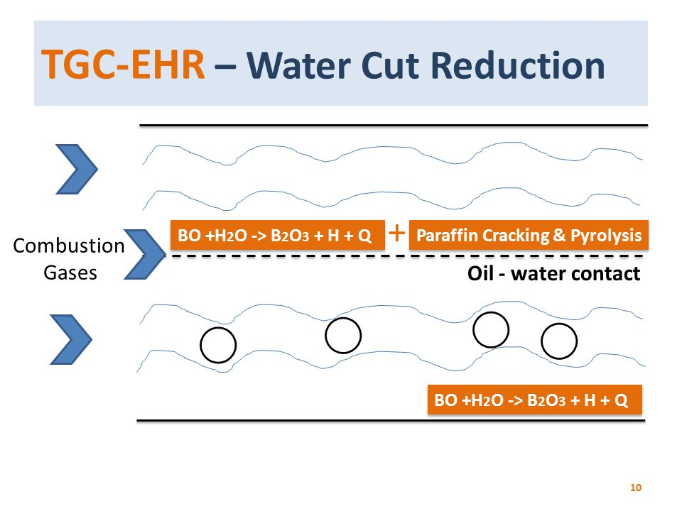 TGC-EHR – Water Cut Reduction