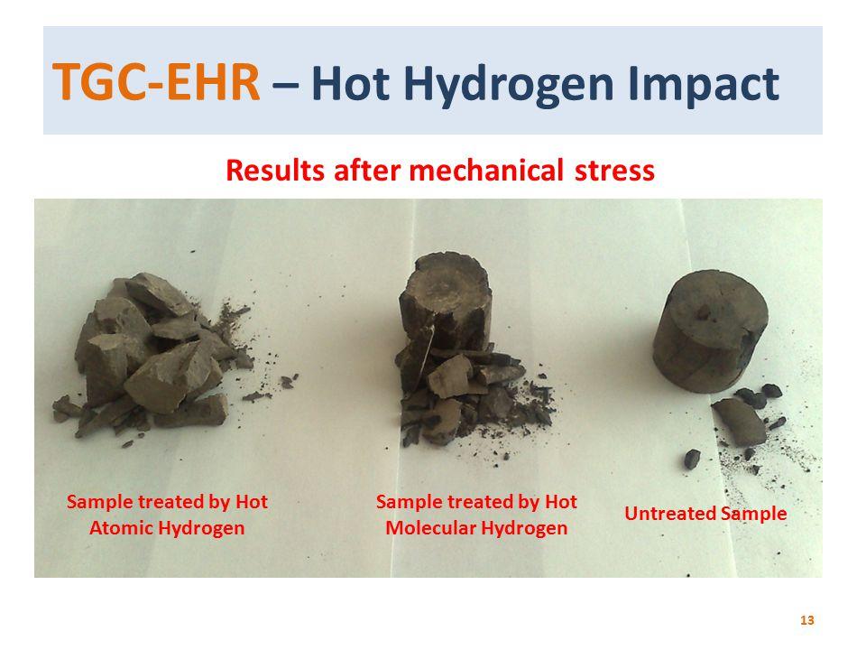 TGC-EHR – Hot Hydrogen Impact