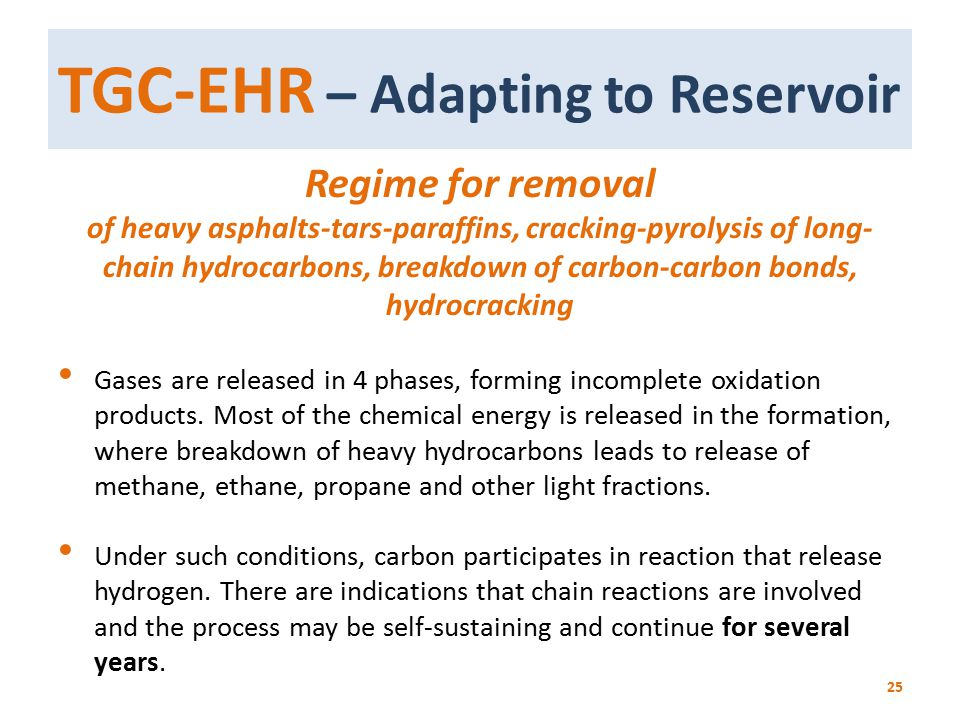 TGC-EHR – Adapting to Reservoir
