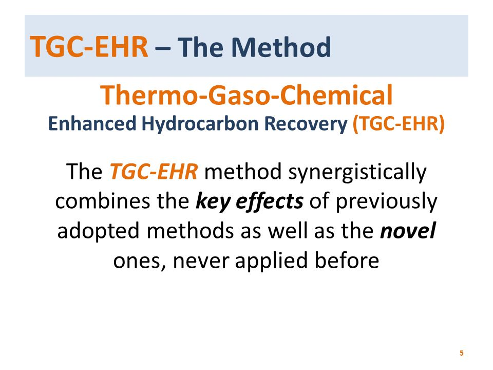 Thermo-Gaso-Chemical Enhanced Hydrocarbon Recovery (TGC-EHR)