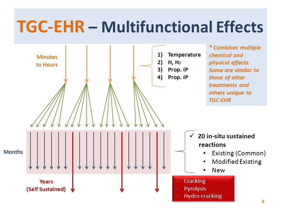 TGC-EHR – Multifunctional Effects