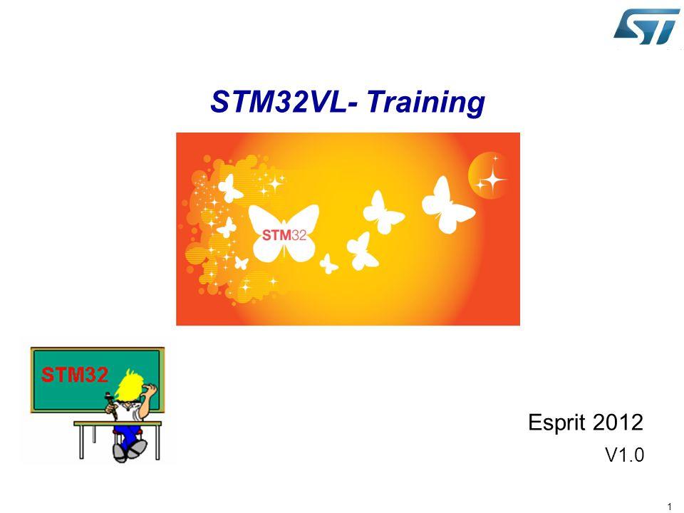 STM32VL- Training Esprit 2012 V1.0