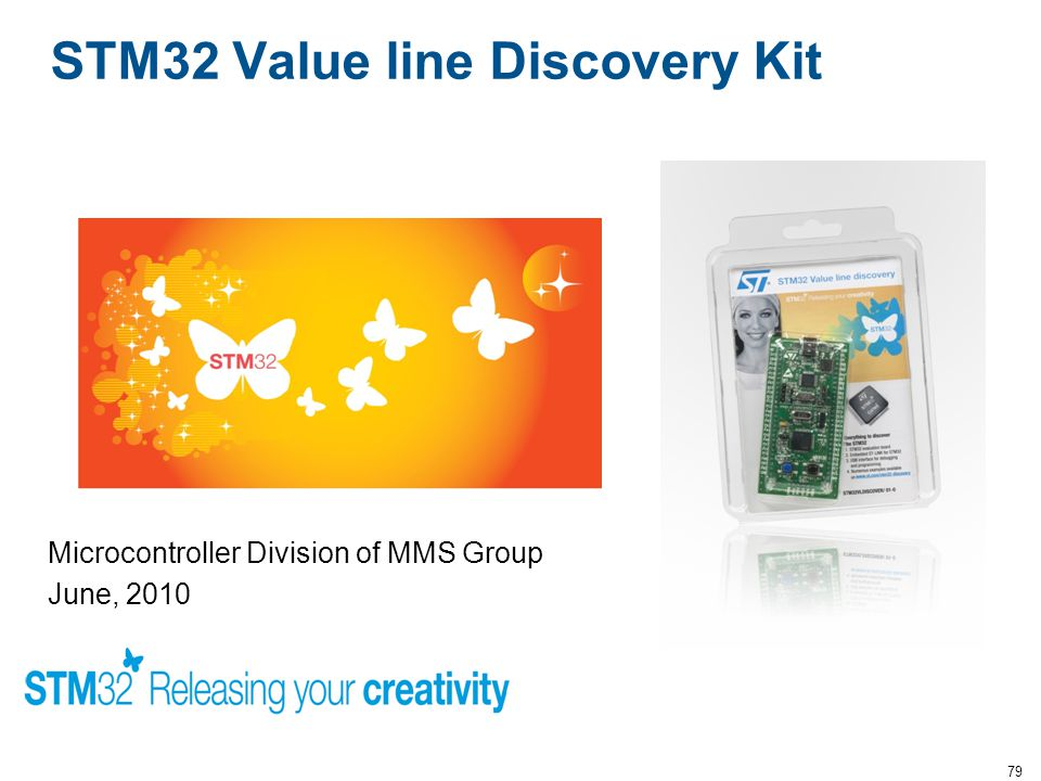 STM32 Value line Discovery Kit