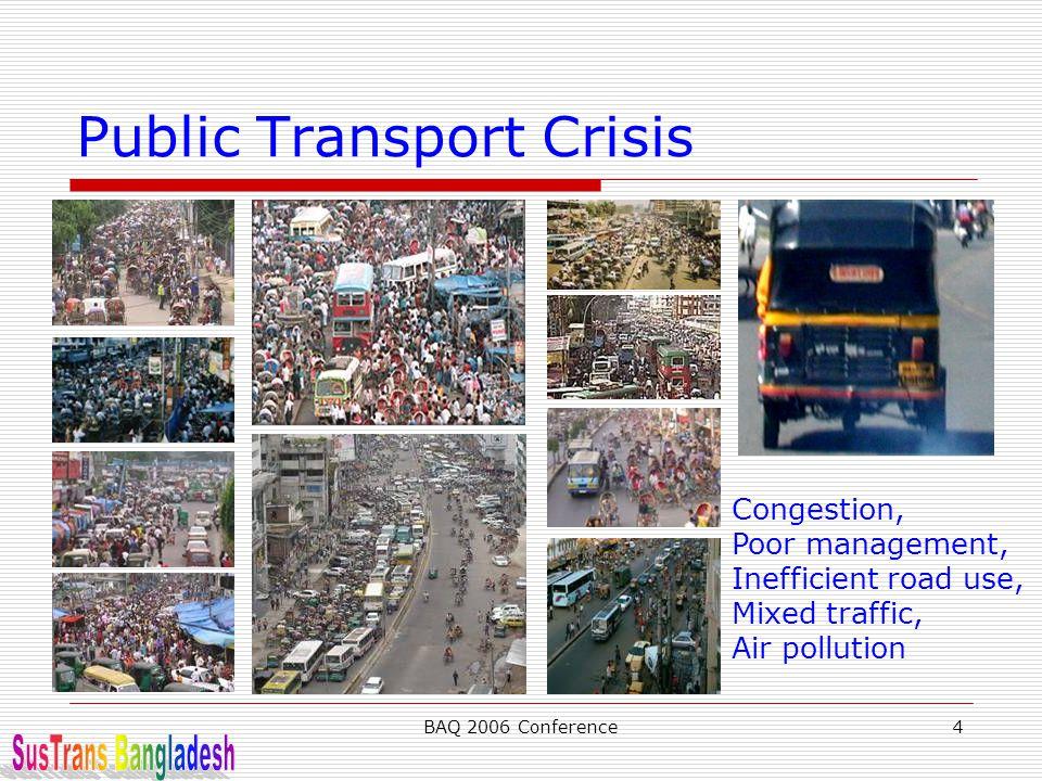 Public Transport Crisis
