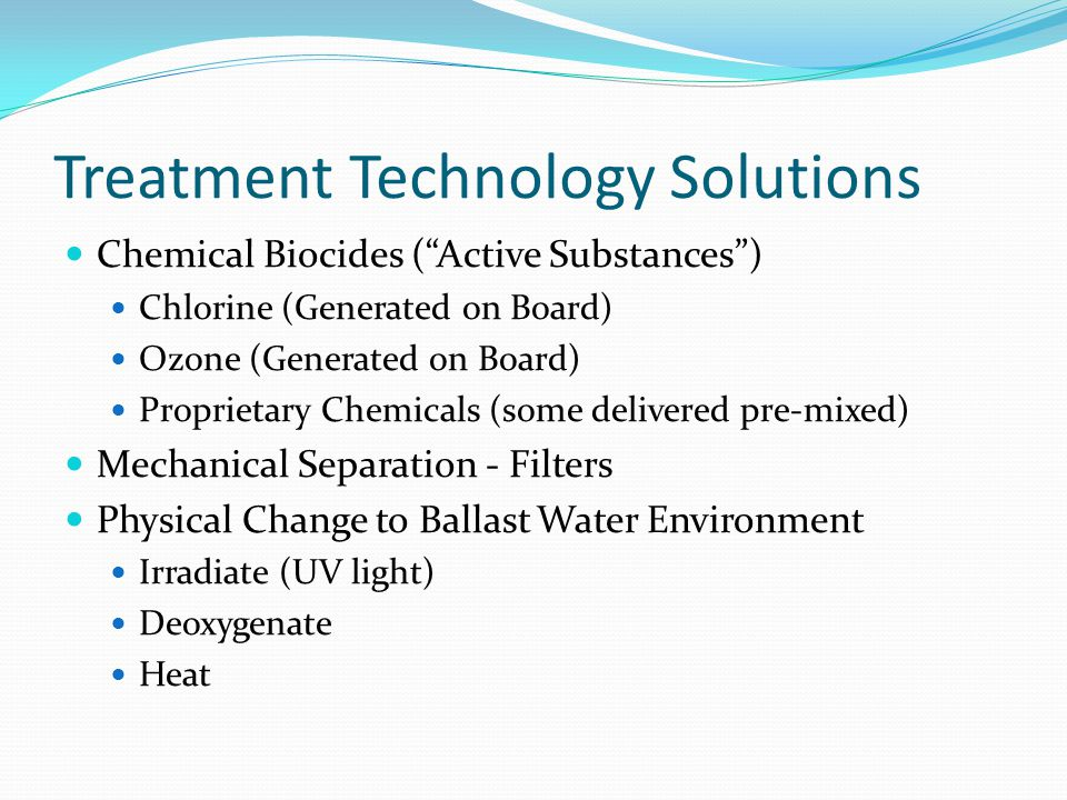 Treatment Technology Solutions