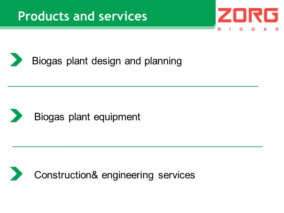 Biogas plant design and planning