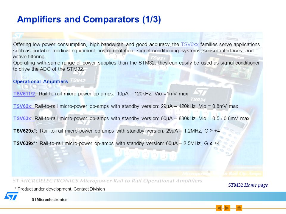 Amplifiers and Comparators (1/3)