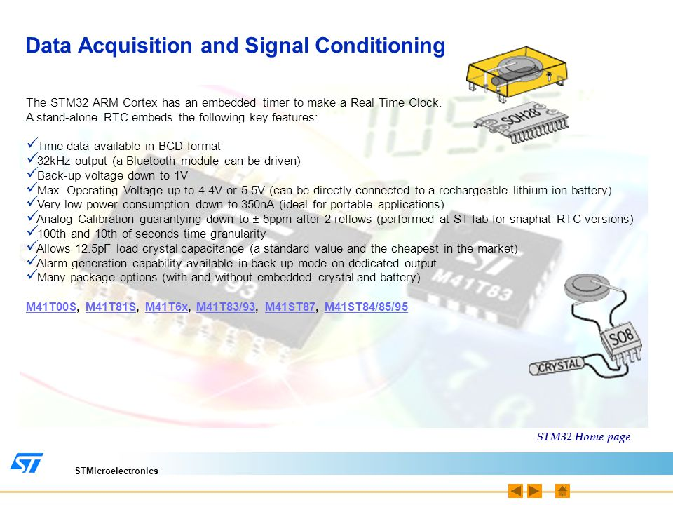 Data Acquisition and Signal Conditioning