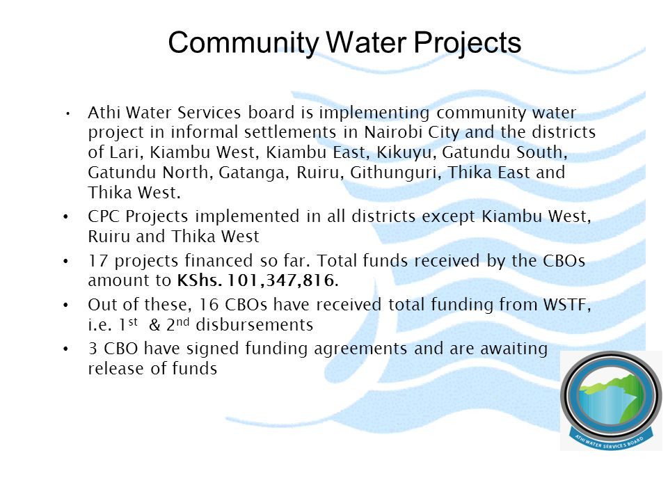 Community Water Projects