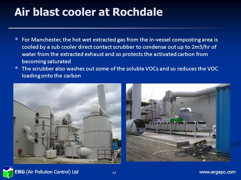 Air blast cooler at Rochdale