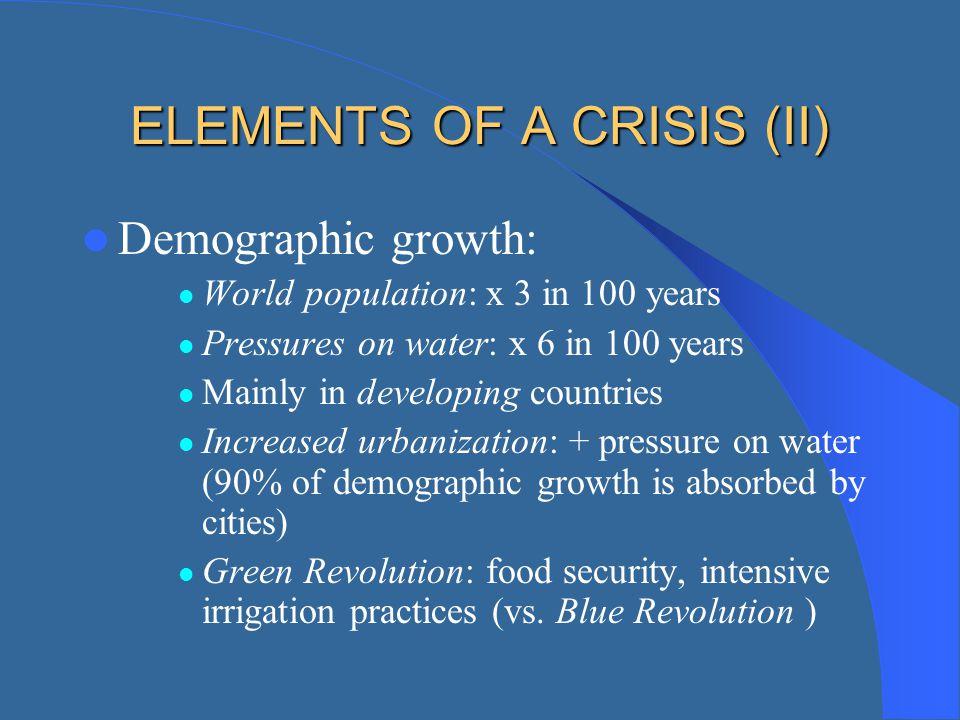 ELEMENTS OF A CRISIS (II)