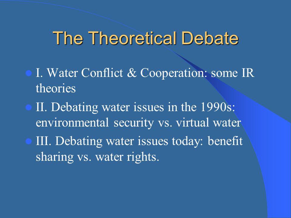 The Theoretical Debate