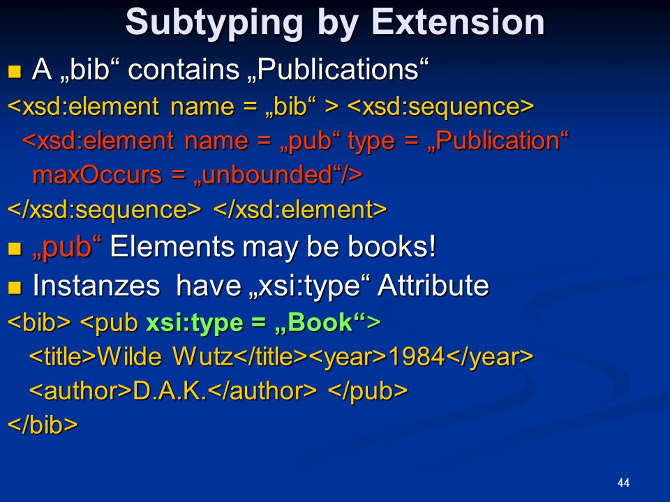 Subtyping by Extension
