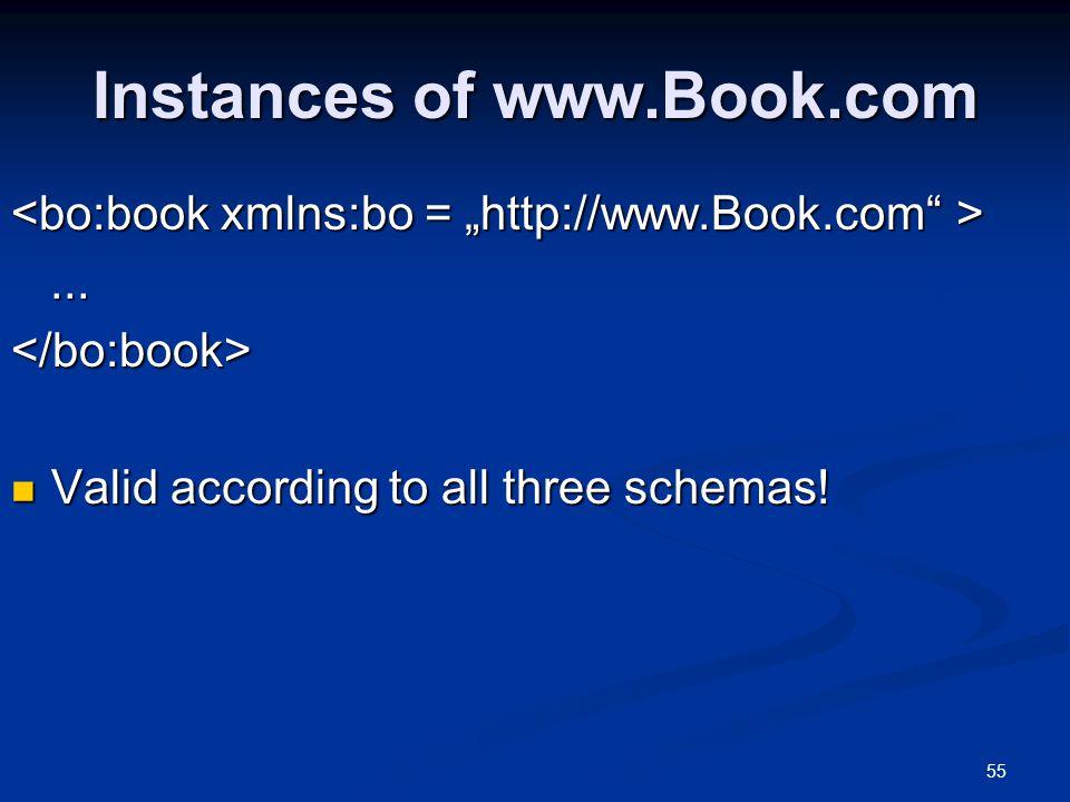Instances of www.Book.com