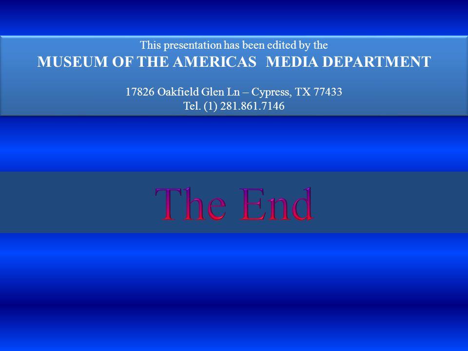 MUSEUM OF THE AMERICAS MEDIA DEPARTMENT