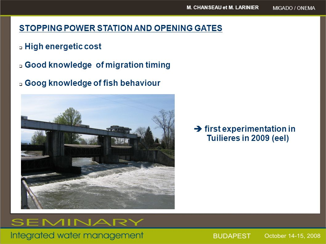 STOPPING POWER STATION AND OPENING GATES High energetic cost