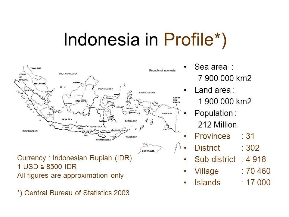 Indonesia in Profile*)