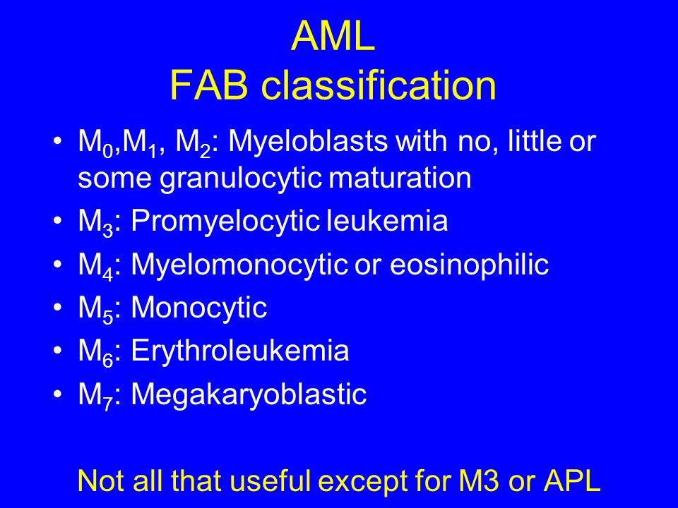 AML FAB classification