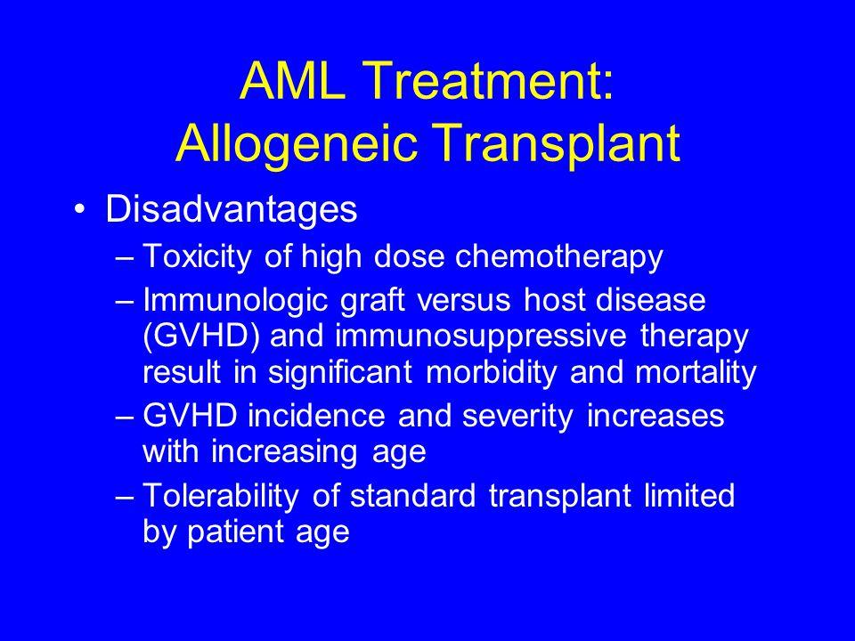 AML Treatment: Allogeneic Transplant