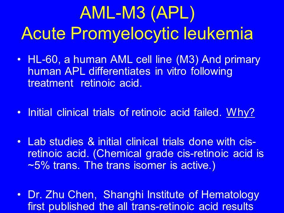AML-M3 (APL) Acute Promyelocytic leukemia