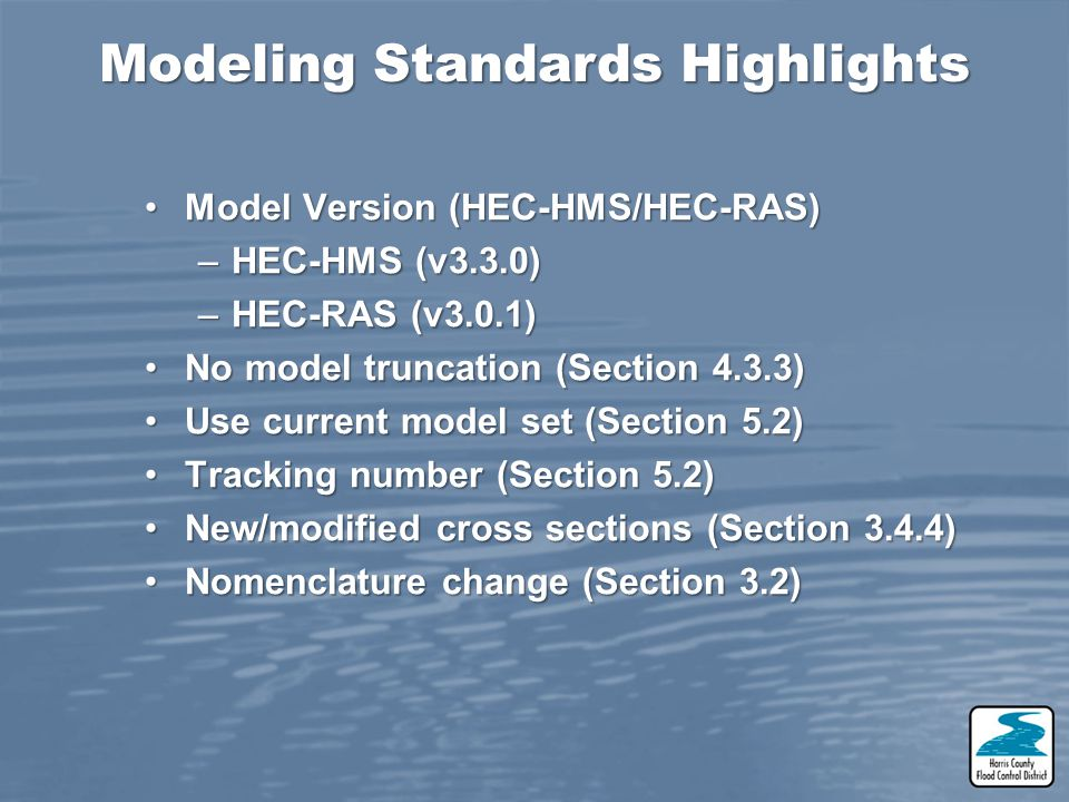 Modeling Standards Highlights