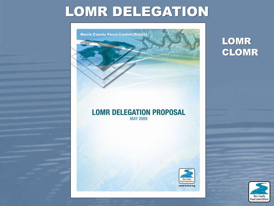 LOMR DELEGATION LOMR CLOMR
