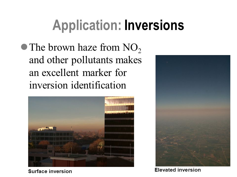 Application: Inversions