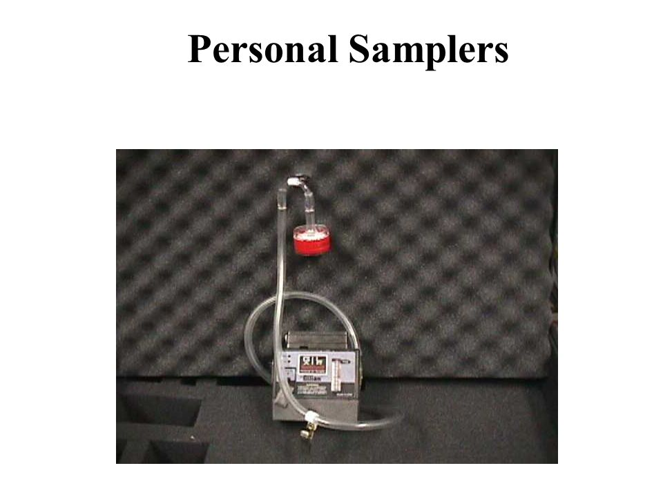 Personal Samplers What To Do: 1. N/A Discussion: