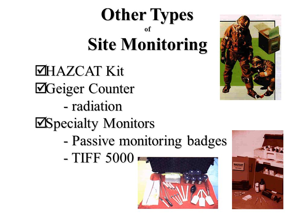 Other Types Site Monitoring