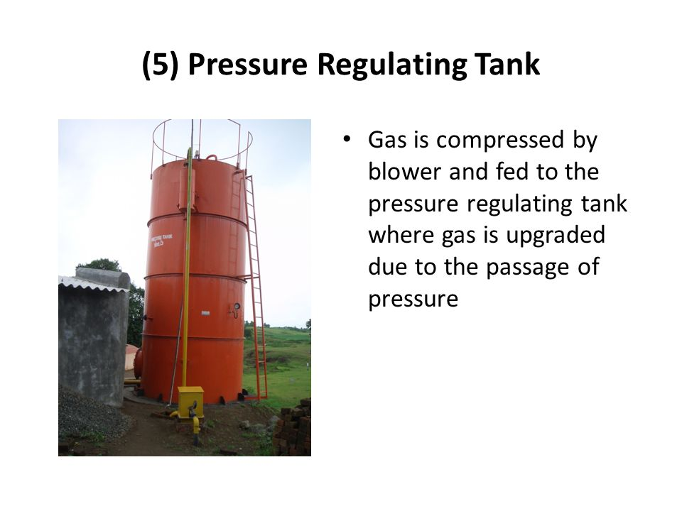 (5) Pressure Regulating Tank