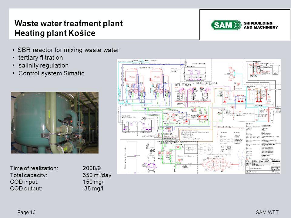Waste water treatment plant Heating plant Košice