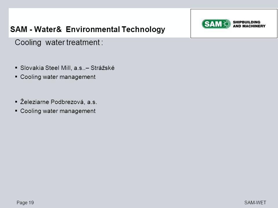 SAM - Water& Environmental Technology