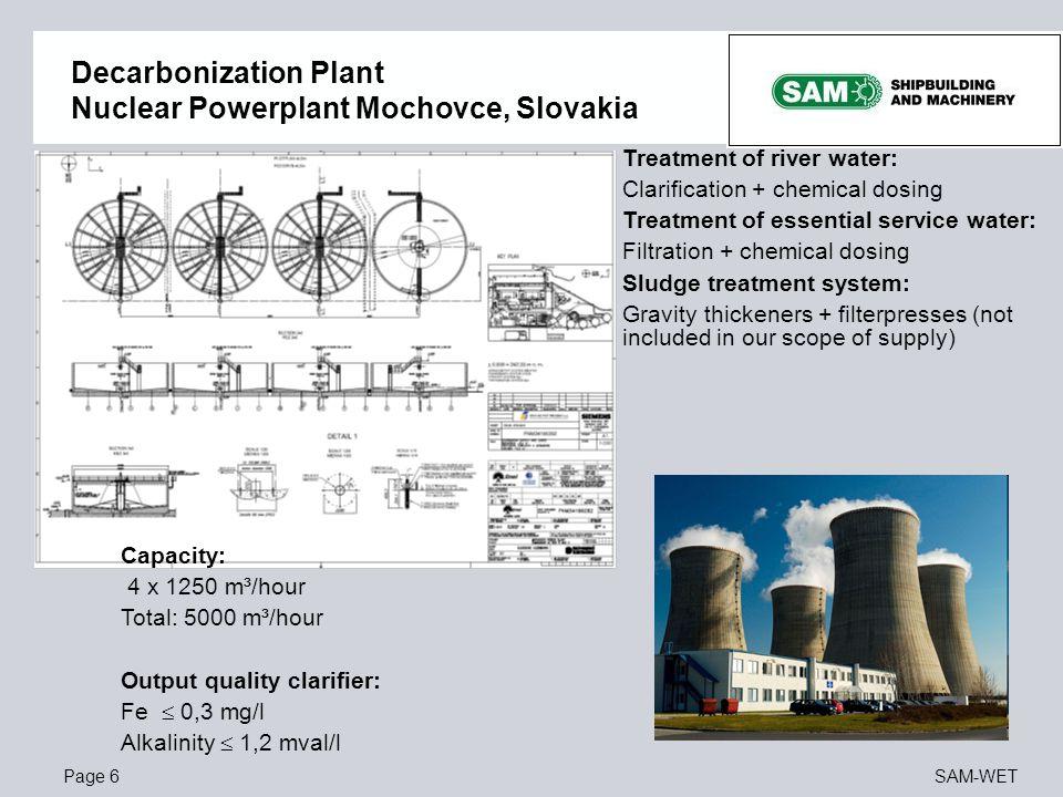 Decarbonization Plant Nuclear Powerplant Mochovce, Slovakia
