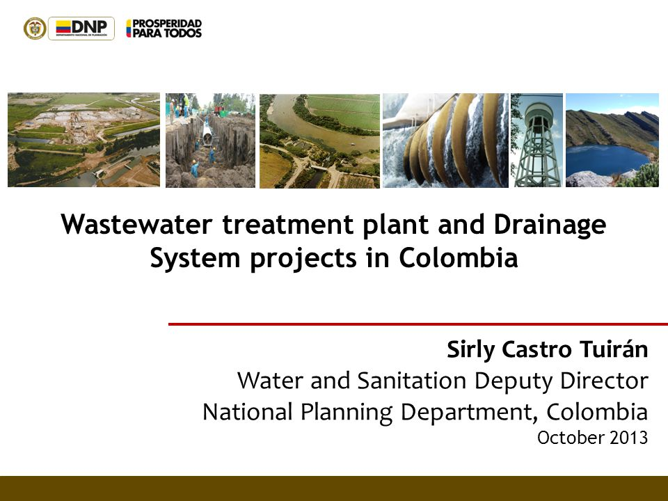 Wastewater treatment plant and Drainage System projects in Colombia