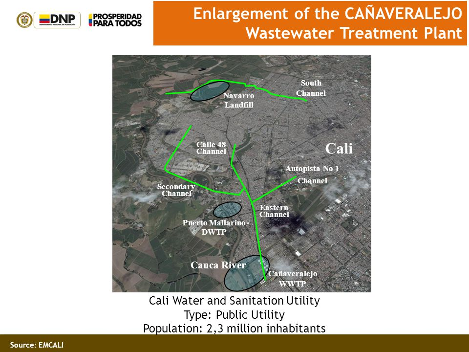 Enlargement of the CAÑAVERALEJO Wastewater Treatment Plant
