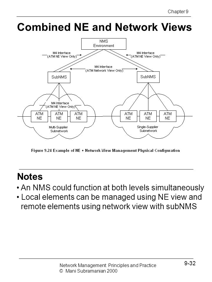 Combined NE and Network Views