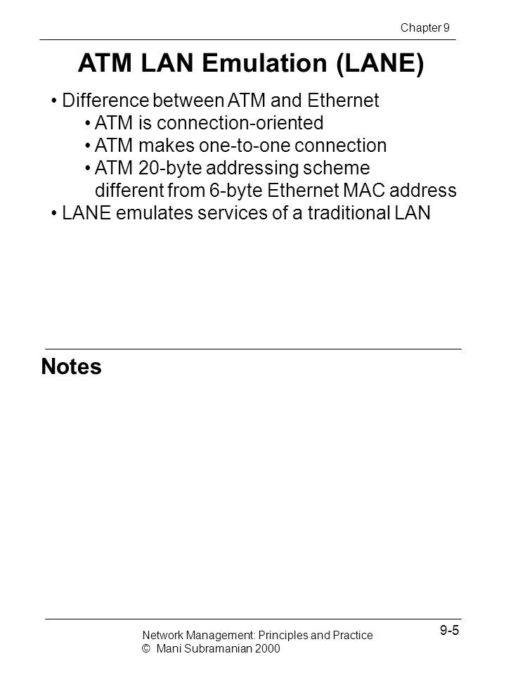 ATM LAN Emulation (LANE)