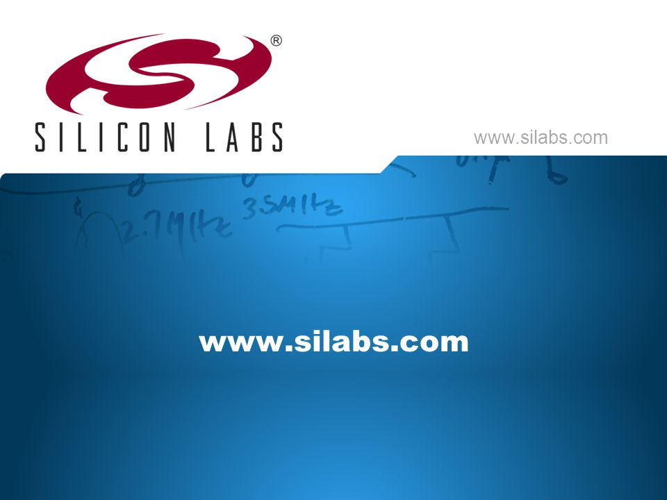 www.silabs.com Thank you for watching this lesson from Lizard Labs. For more information, go to the Silicon Labs website.